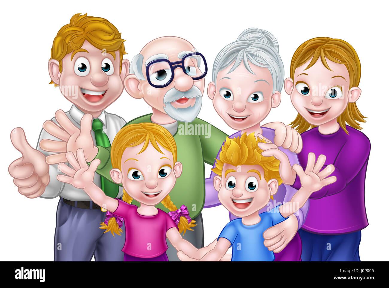 Familie Comic
