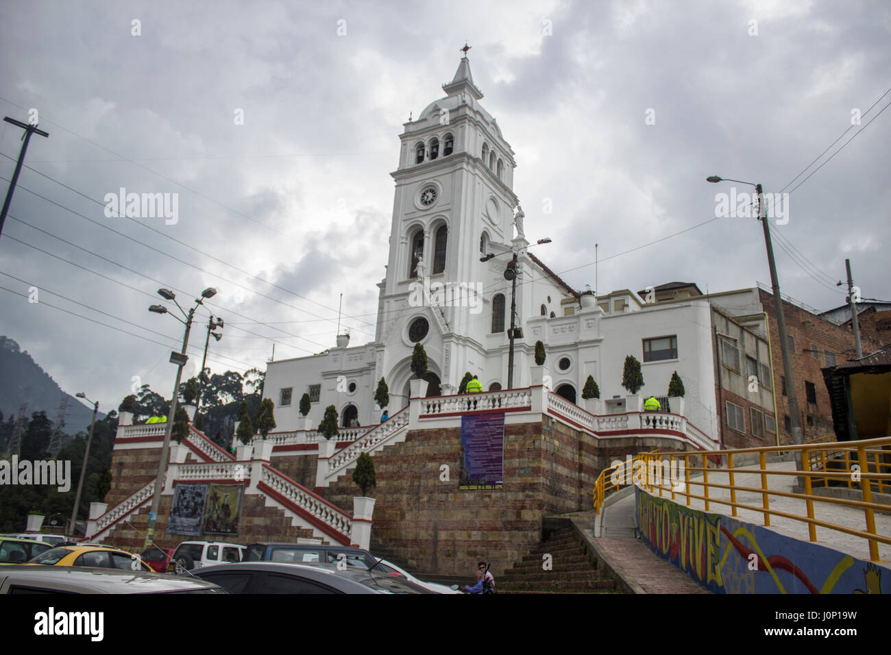 Church of Our Lady of Egypt, Barrio Egipto - Stock Image