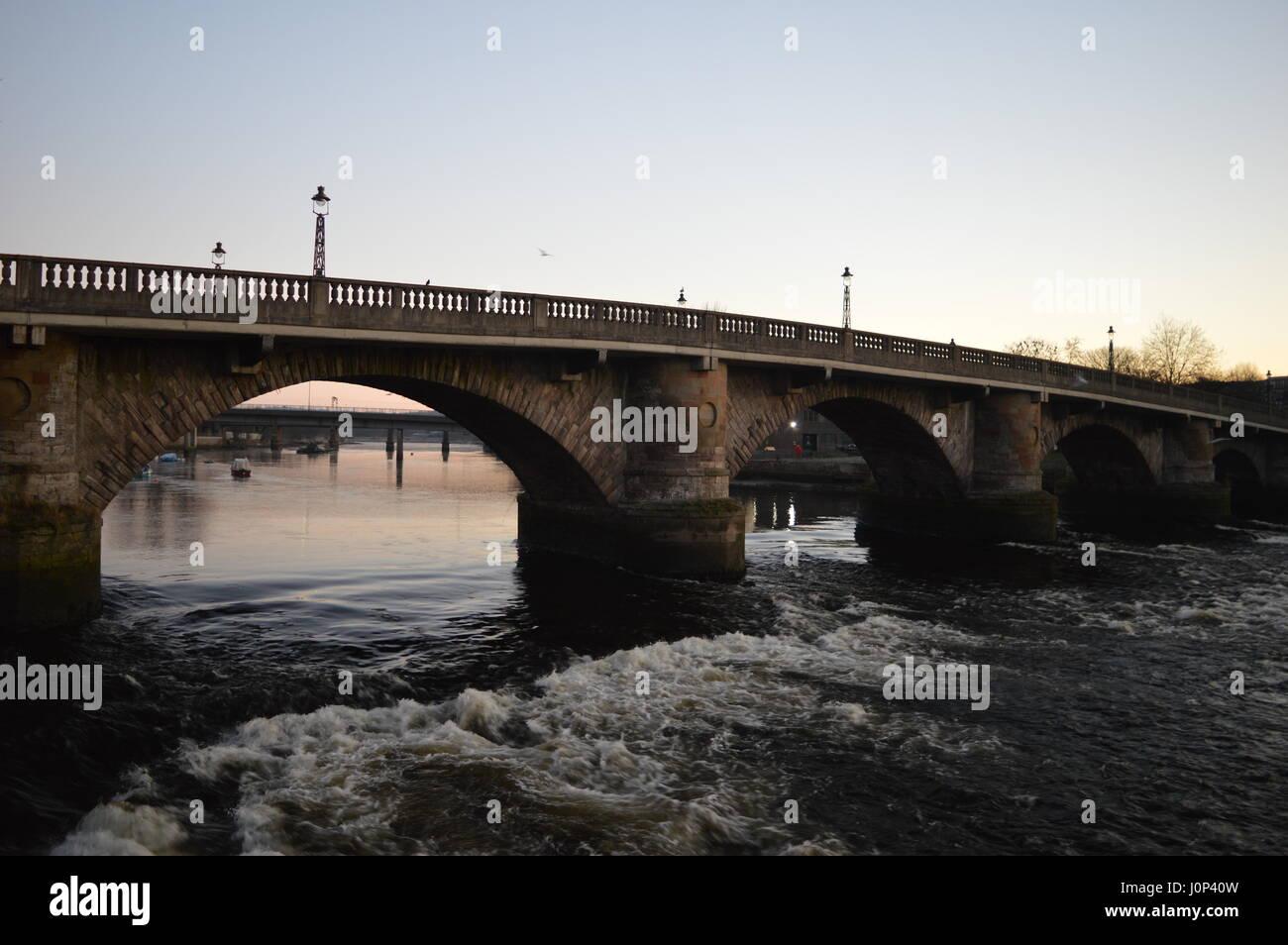 Dumbarton views - Stock Image