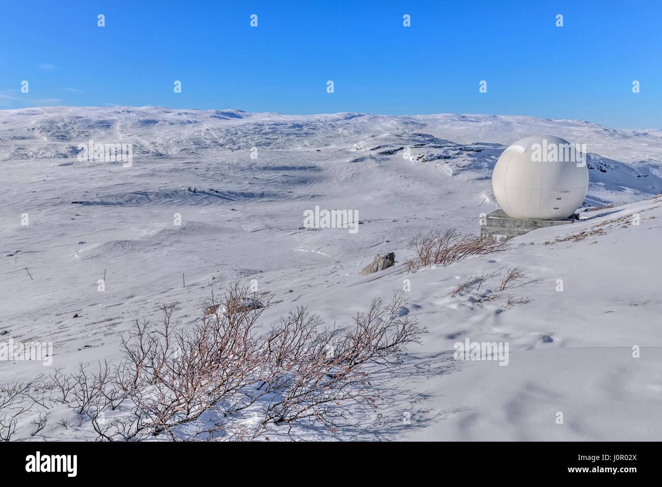 Kangerlussuaq, Artic Circle, Greenland, Europe - Stock Image