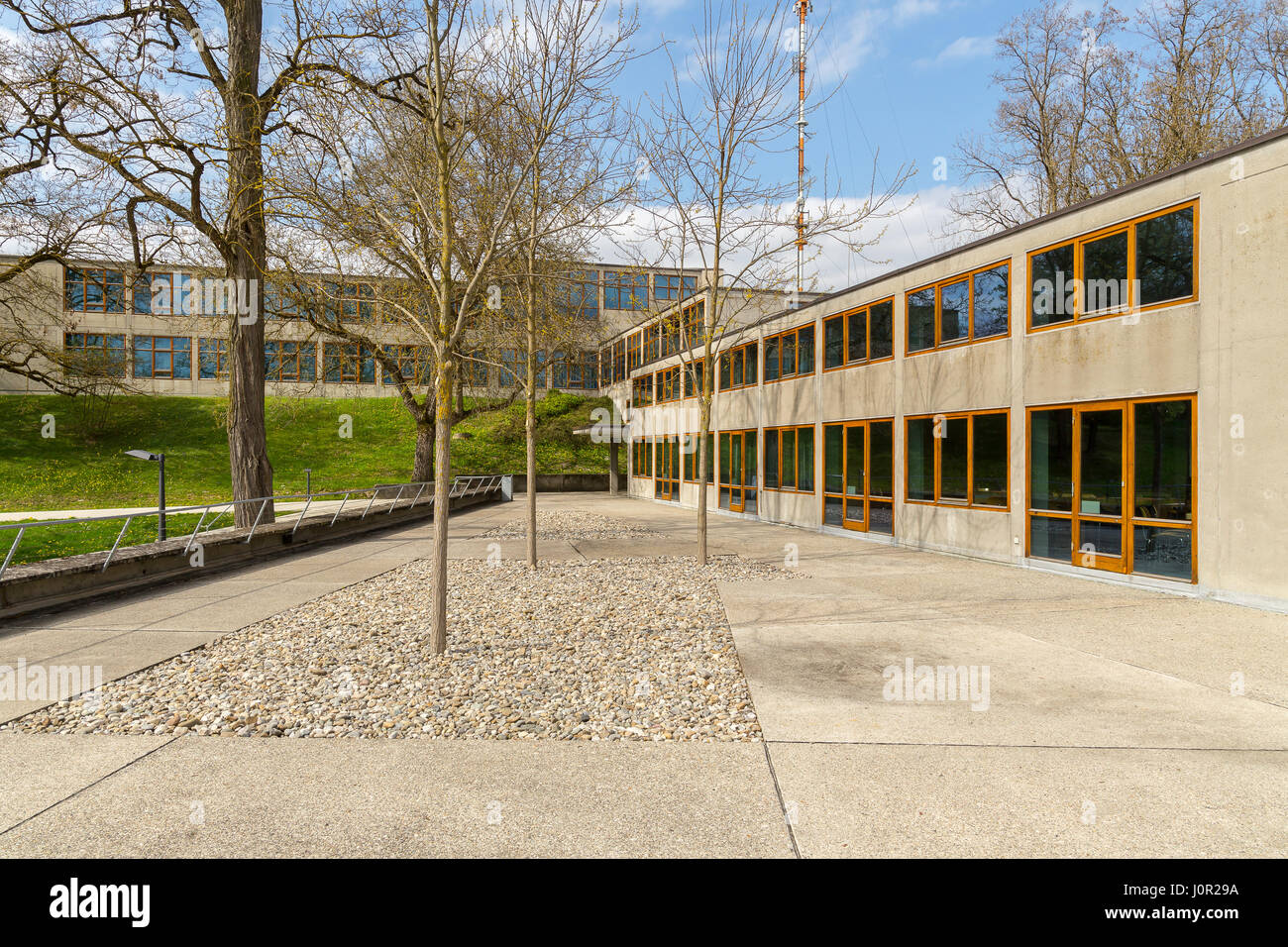 The Ulm School Of Design Hochschule Für Gestaltung In Ulm Germany Stock Photo Alamy