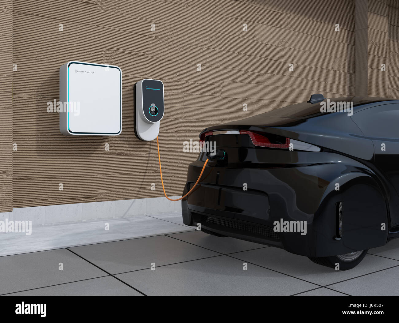 Electric Vehicle Charging Station For Home 3d Rendering Image Stock Photo Alamy,Cheap Diy Halloween Decorations Scary