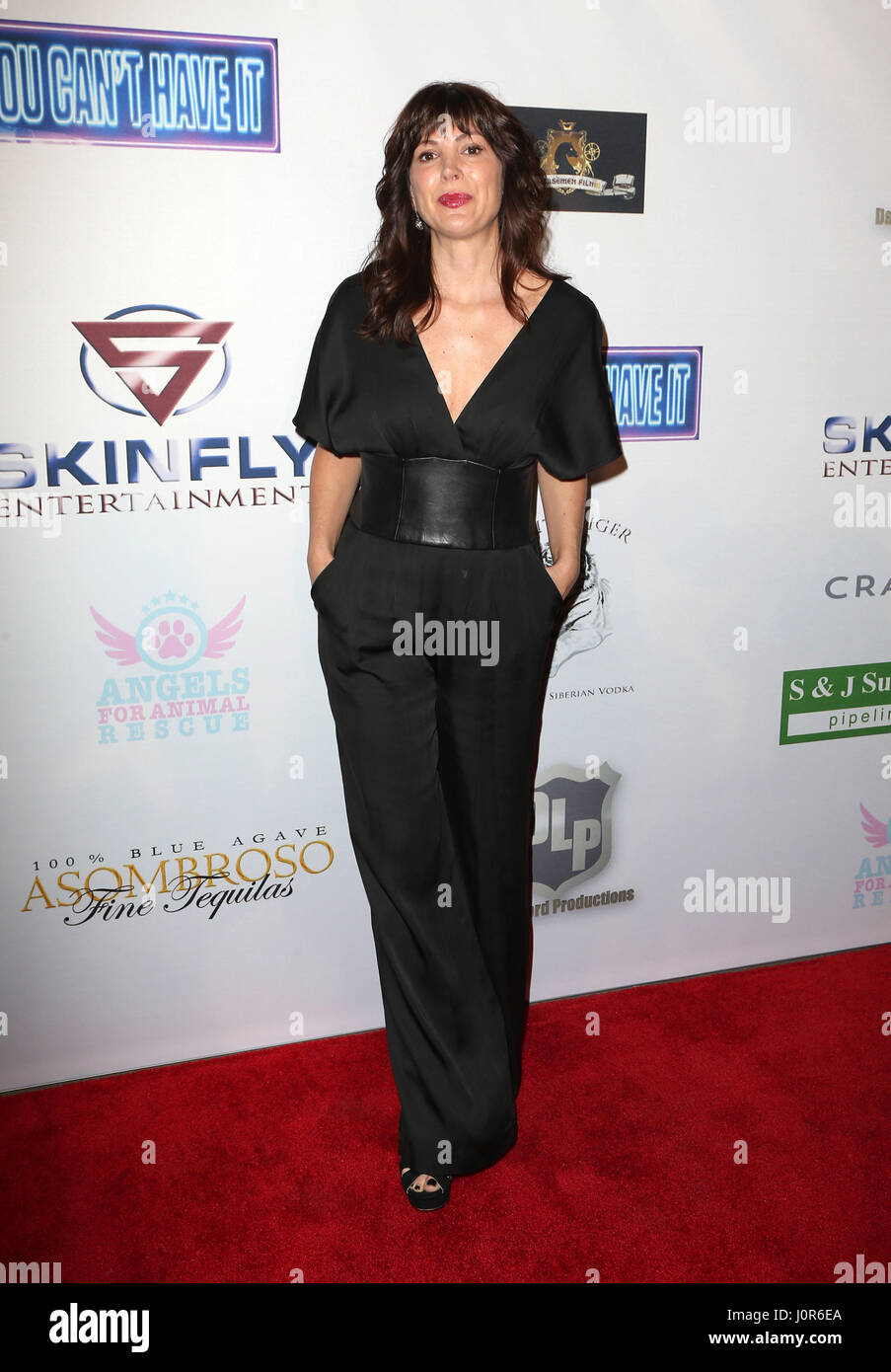 Premiere Of Skinfly Entertainment's 'You Can't Have It' - Arrivals  Featuring: Moniqua Plante Where: - Stock Image