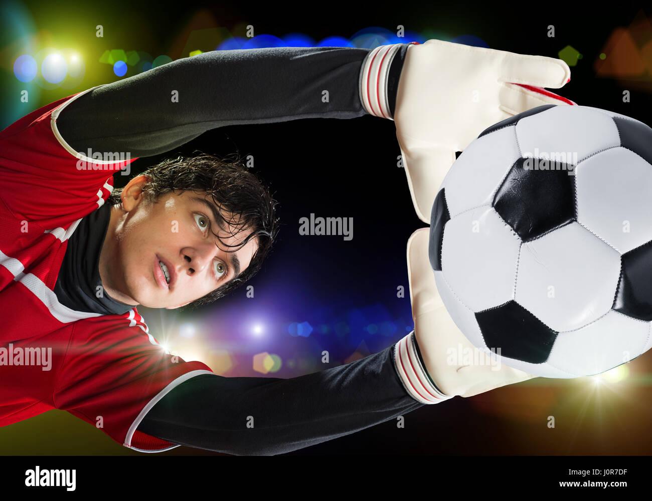 Best goalkeeper - Stock Image
