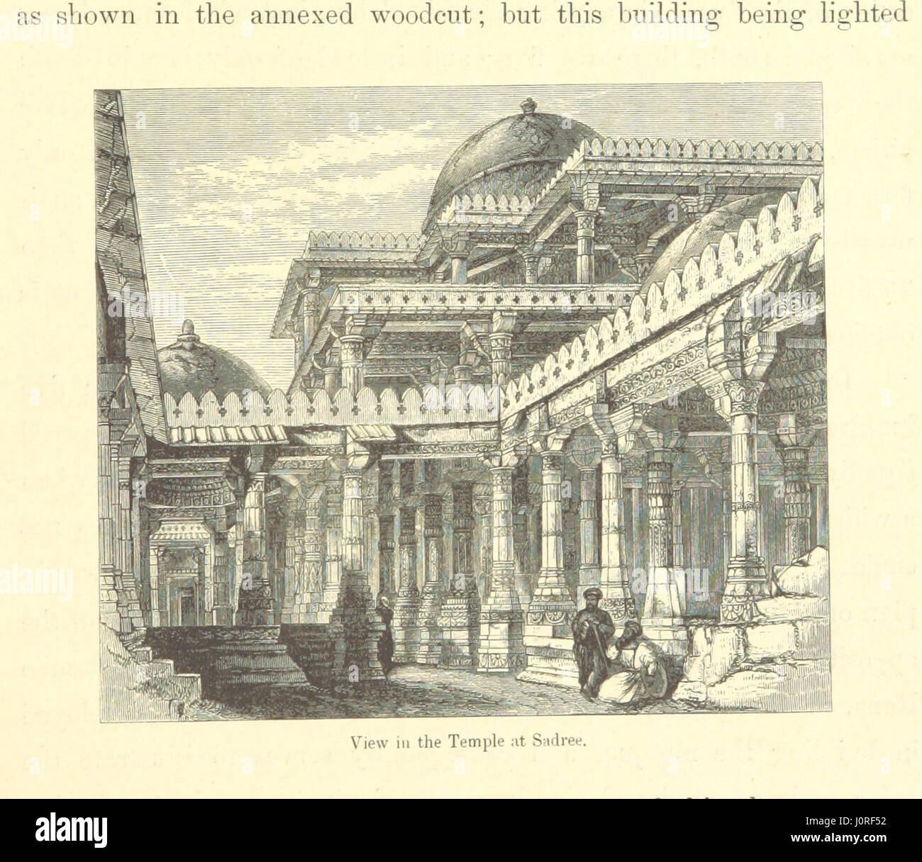 Architecture at Ahmedabad, the Capital of Goozerat, photographed by Colonel Biggs, ... With an historical and descriptive Stock Photo