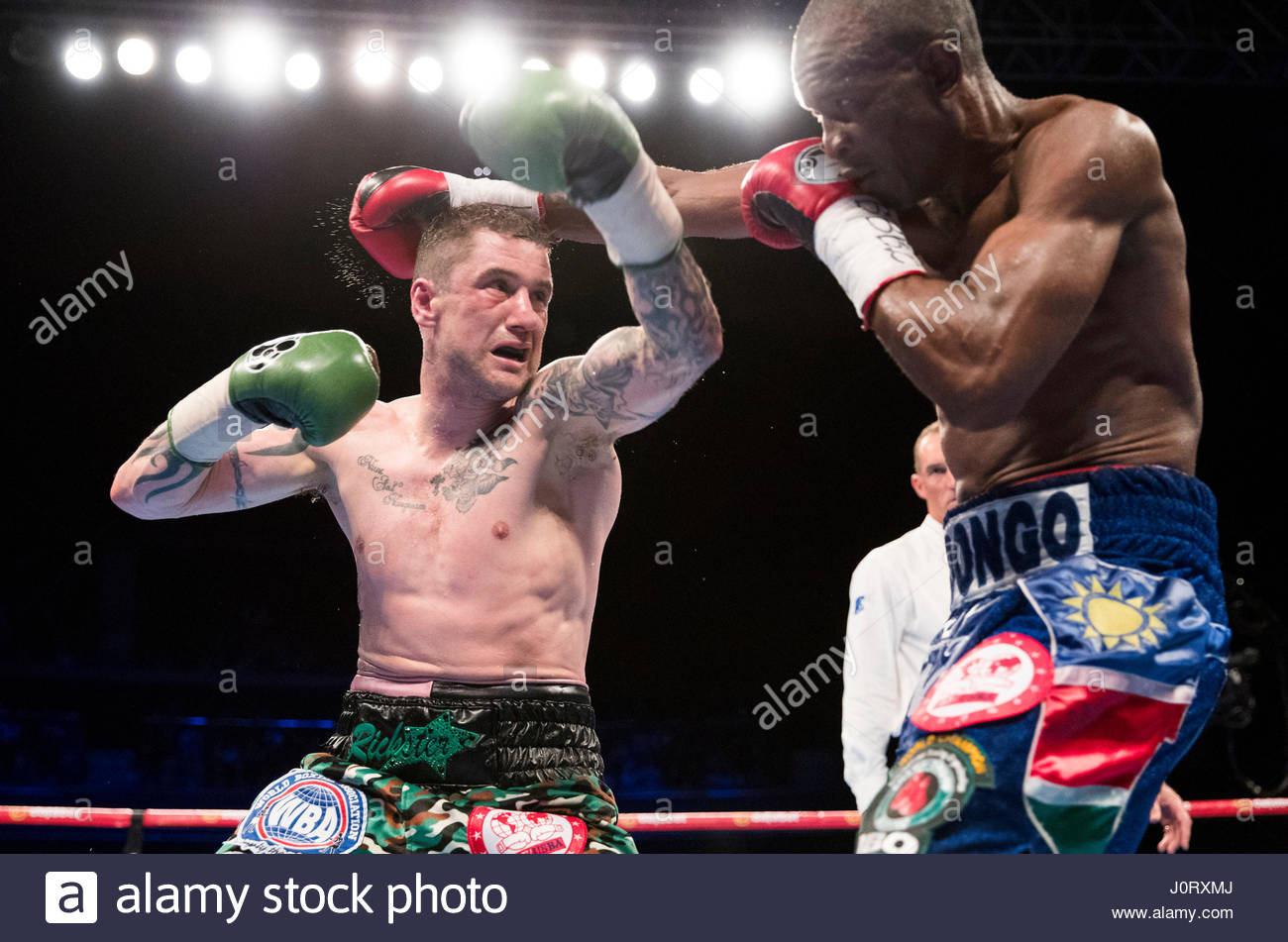 Russian boxer Troyanovsky defended his IBO and IBF world champion titles