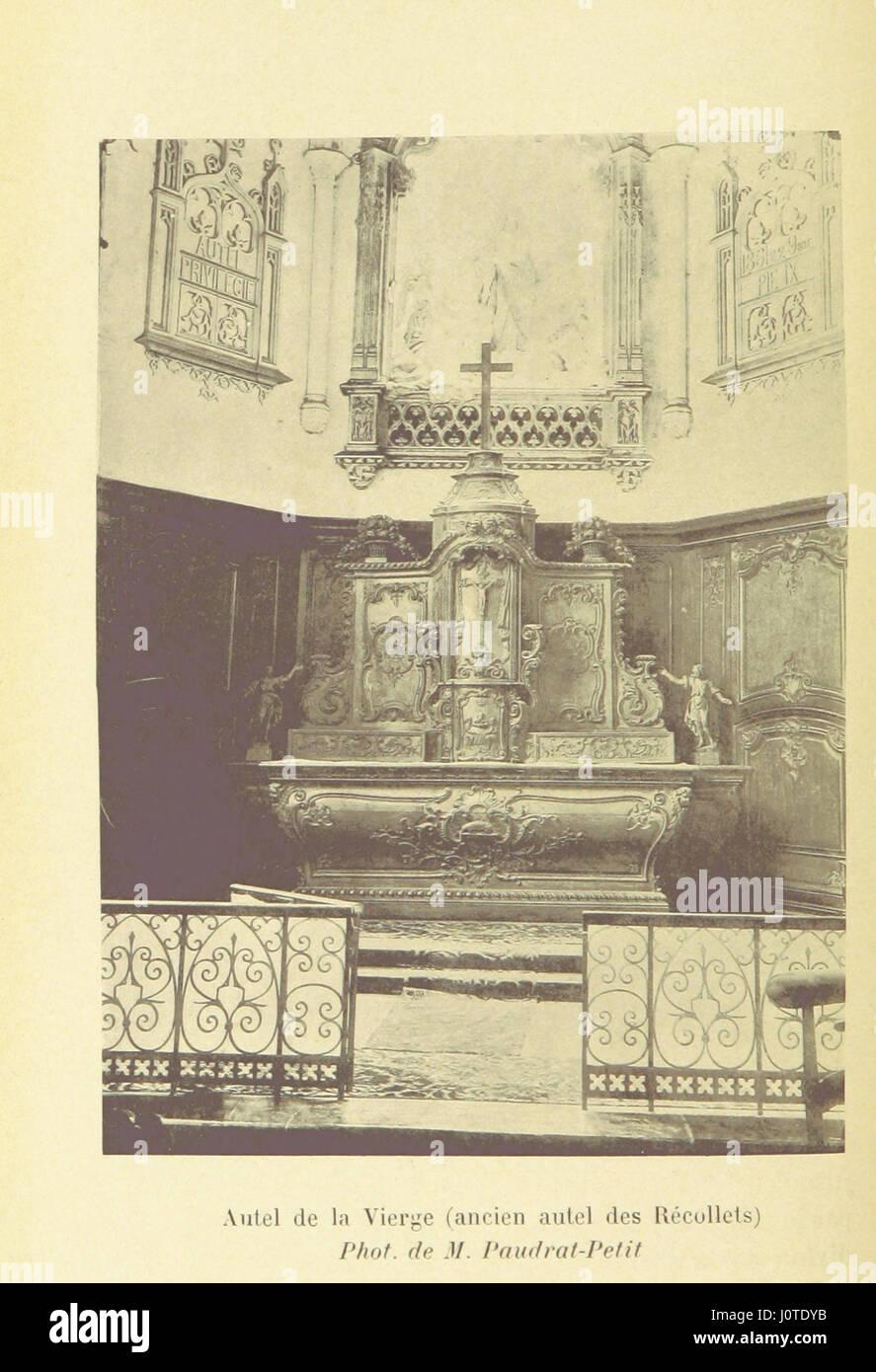 Histoire d'Hesdin Stock Photo