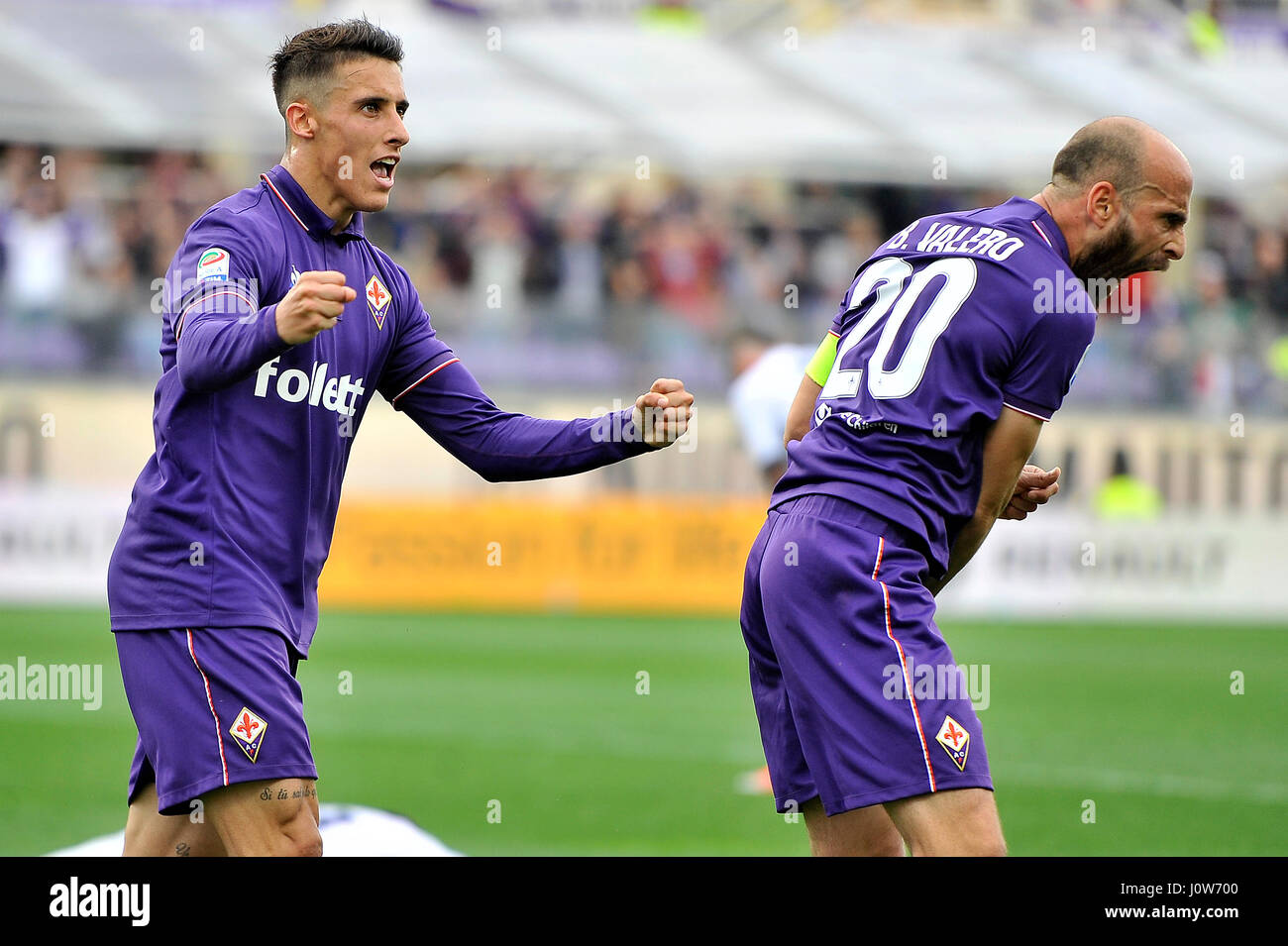 15th Apr 2017 Acf Fiorentinas Cristian Tello L