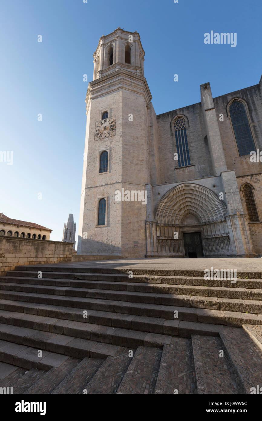 Cathedral Of Saint Mary Of Girona Catedral De Santa Maria De Stock