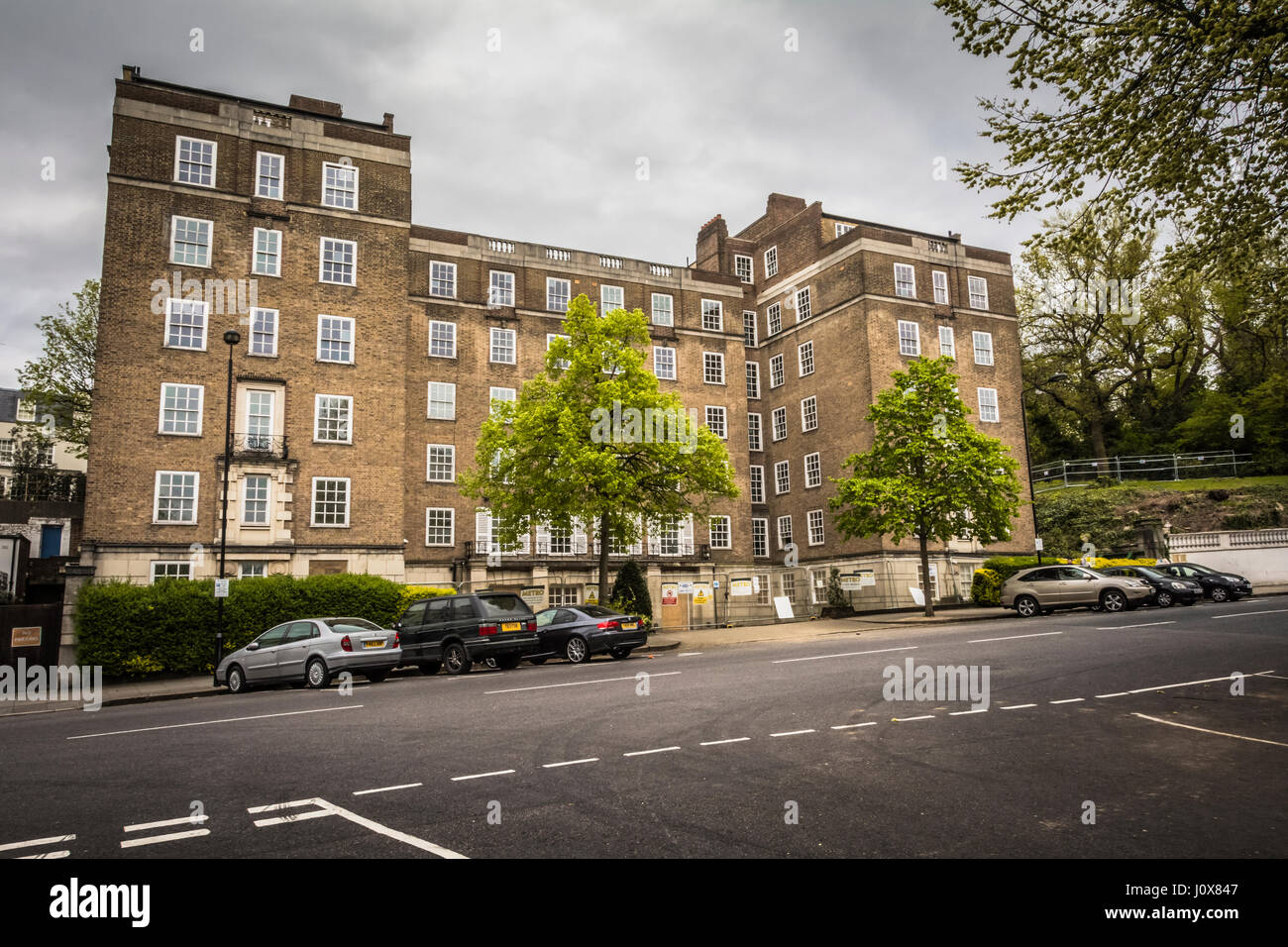 Controversy surrounds the proposed redevelopment of Duke's Lodge mansions in Holland Park by Christian Candy's - Stock Image
