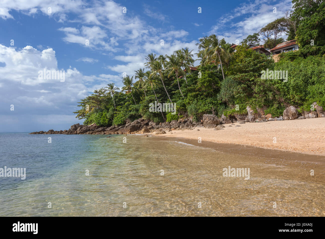 Klong Nin Beach in Koh Lanta Yai, Krabi Province, Thailand, Southeast Asia - Stock Image