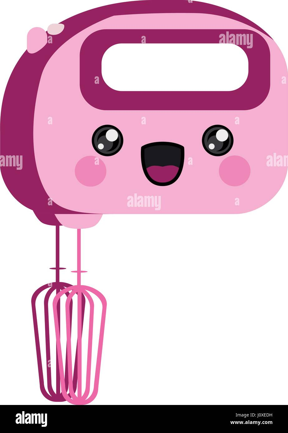 Cartoon Kitchen Mixer ~ Cartoon mixer stock photos images