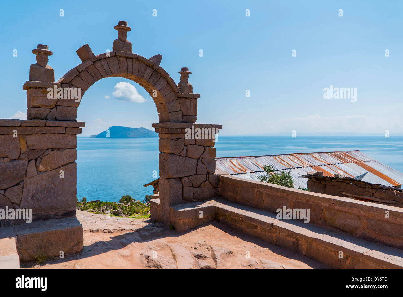 Lake titicaca - Stock Image