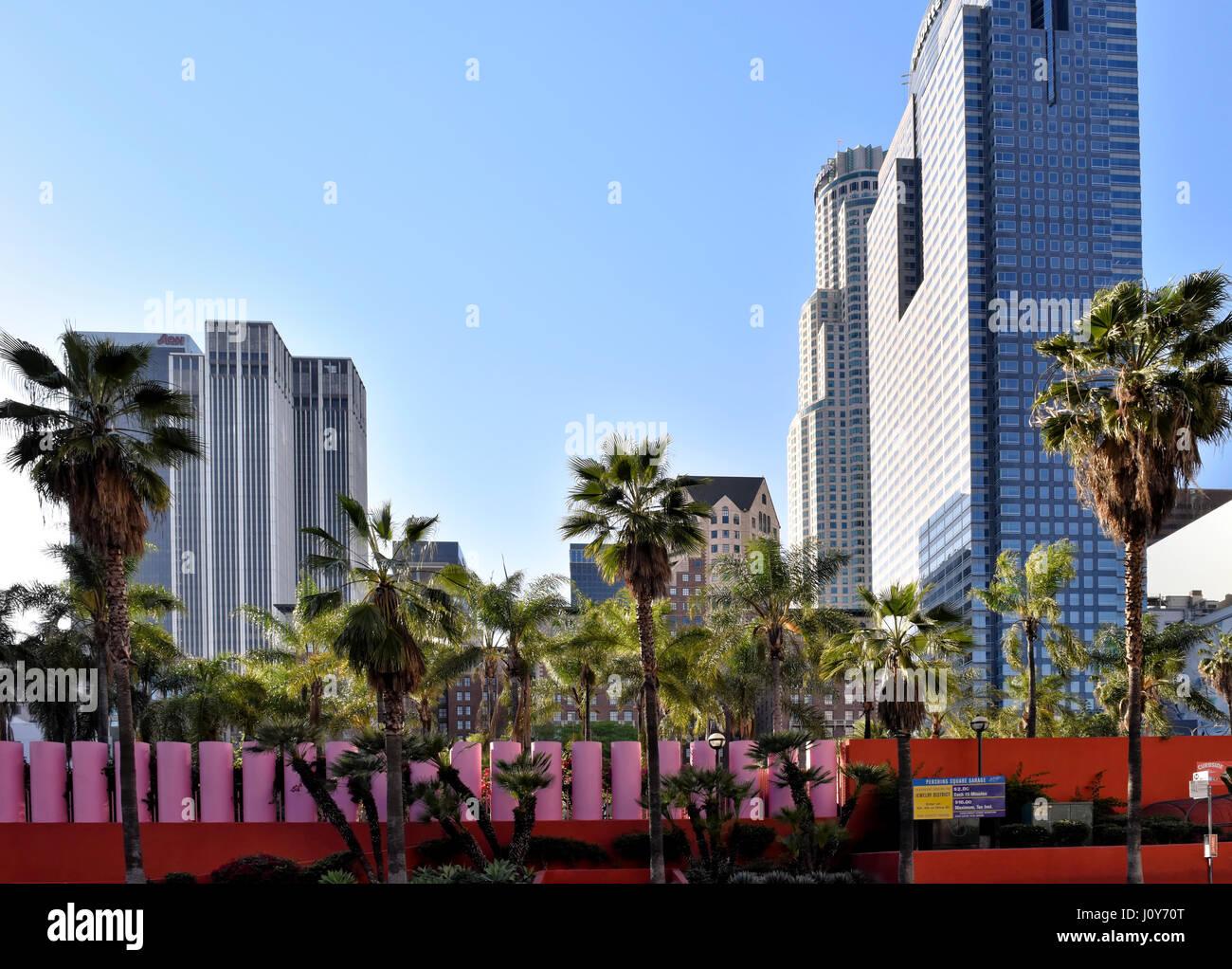 Downtown Los Angeles California Stock Photo