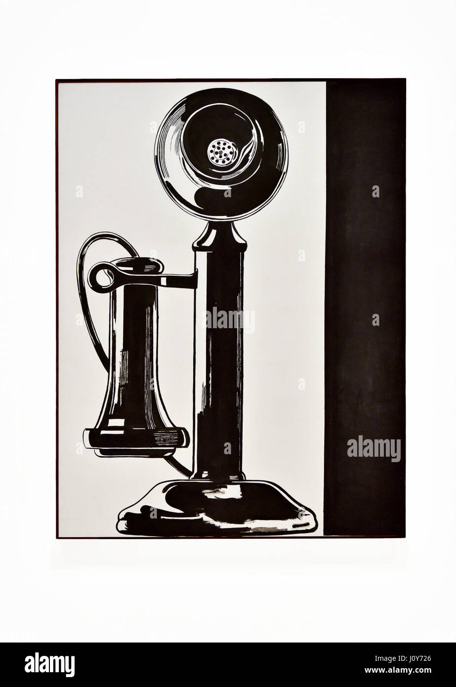 Art Of Movement Stock Photos Images Alamy Andy Warhol Dance Diagram 1961 Telephone On Display In The Moca Gallery Los Angeles