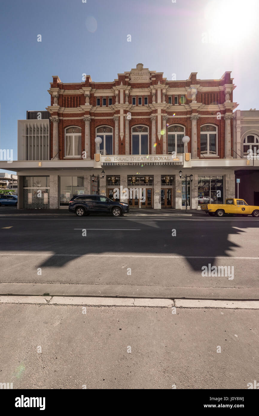 Isaac Theatre Royal, Christchurch, New Zealand. - Stock Image