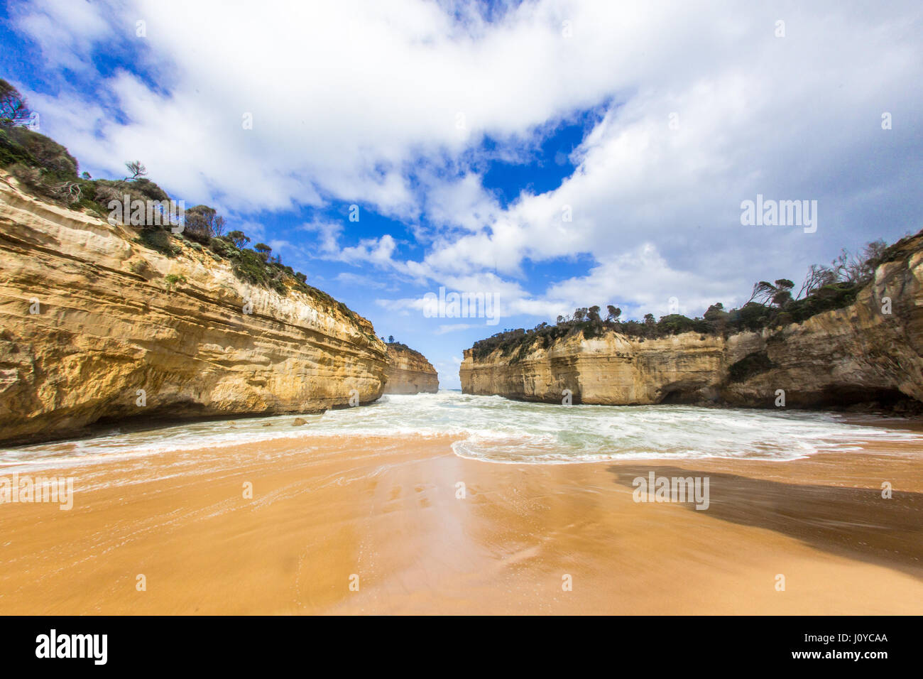 Loch Ard Gorge on the Great Ocean Road, Victoria, Australia - Stock Image