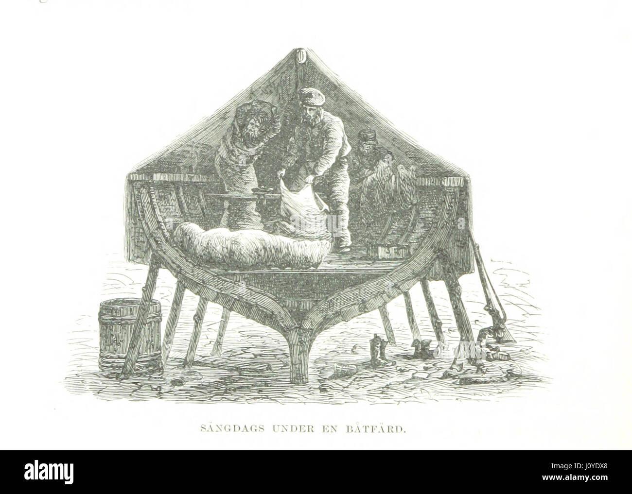 Image taken from page 126 of 'Svenska Polar-Expeditionen år 1868 med kronoåufartyget Sofia. Reseskizzer, etc' Stock Photo