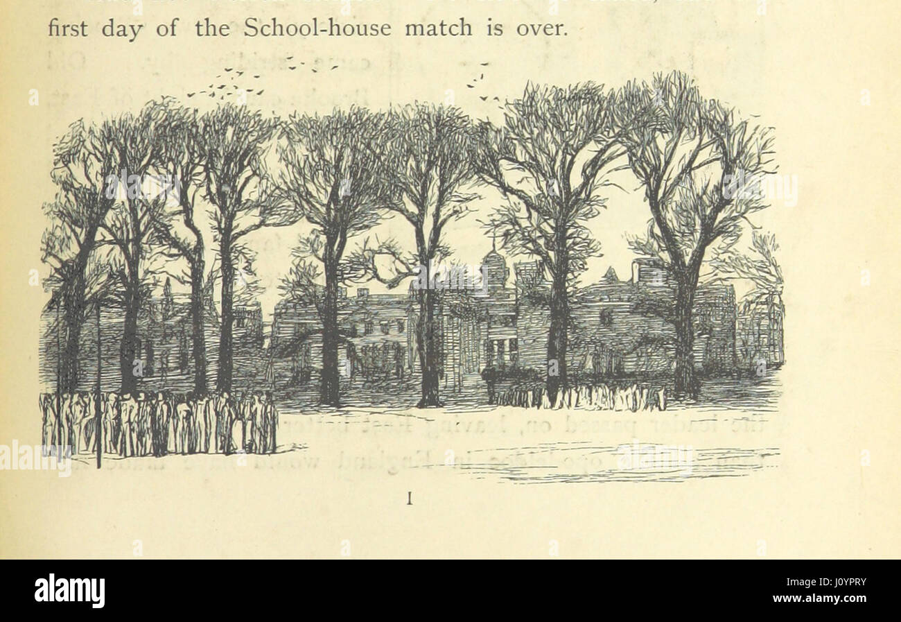 Image taken from page 151 of '[Tom Brown's School Days. By an Old Boy [i.e. Thomas Hughes]. Third edition.]' Stock Photo