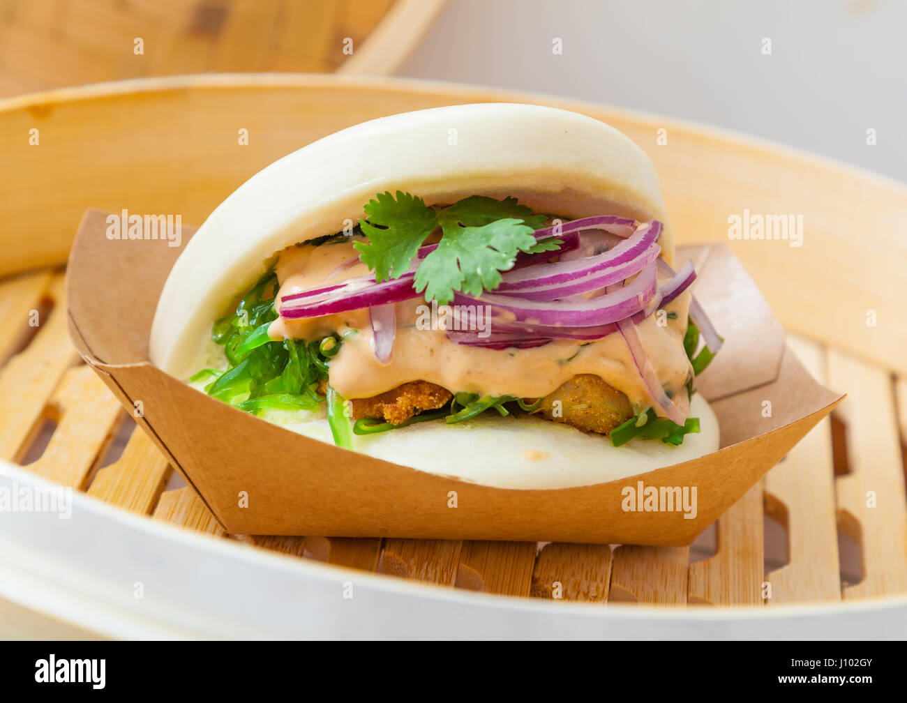 Bao sandwich asian street food stock photo 138299643 alamy bao sandwich asian street food forumfinder Gallery