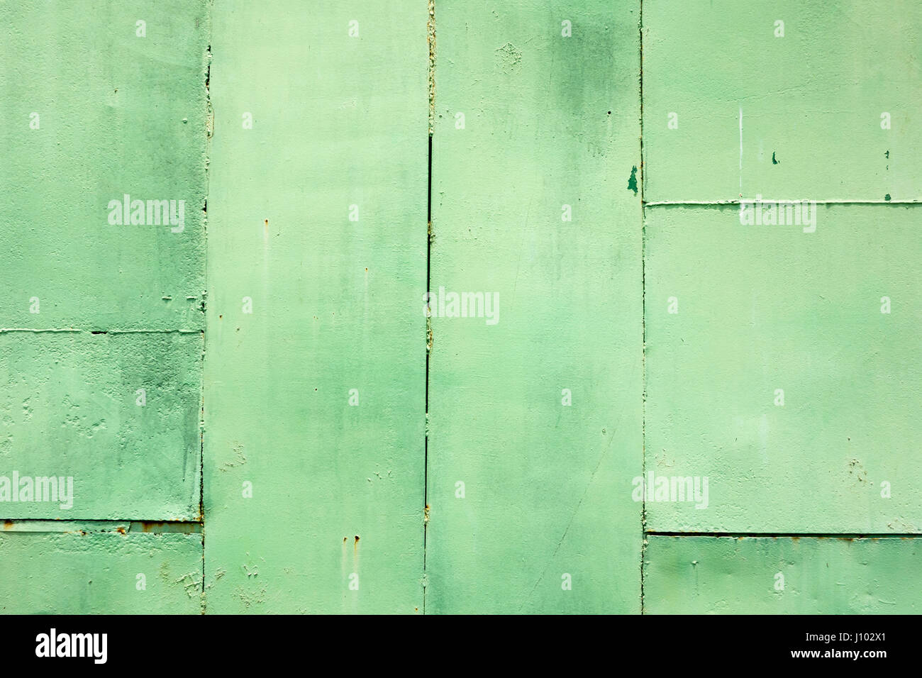 Grunge Concrete Sheet Wall Paint In Green Colour BackgroundTexture