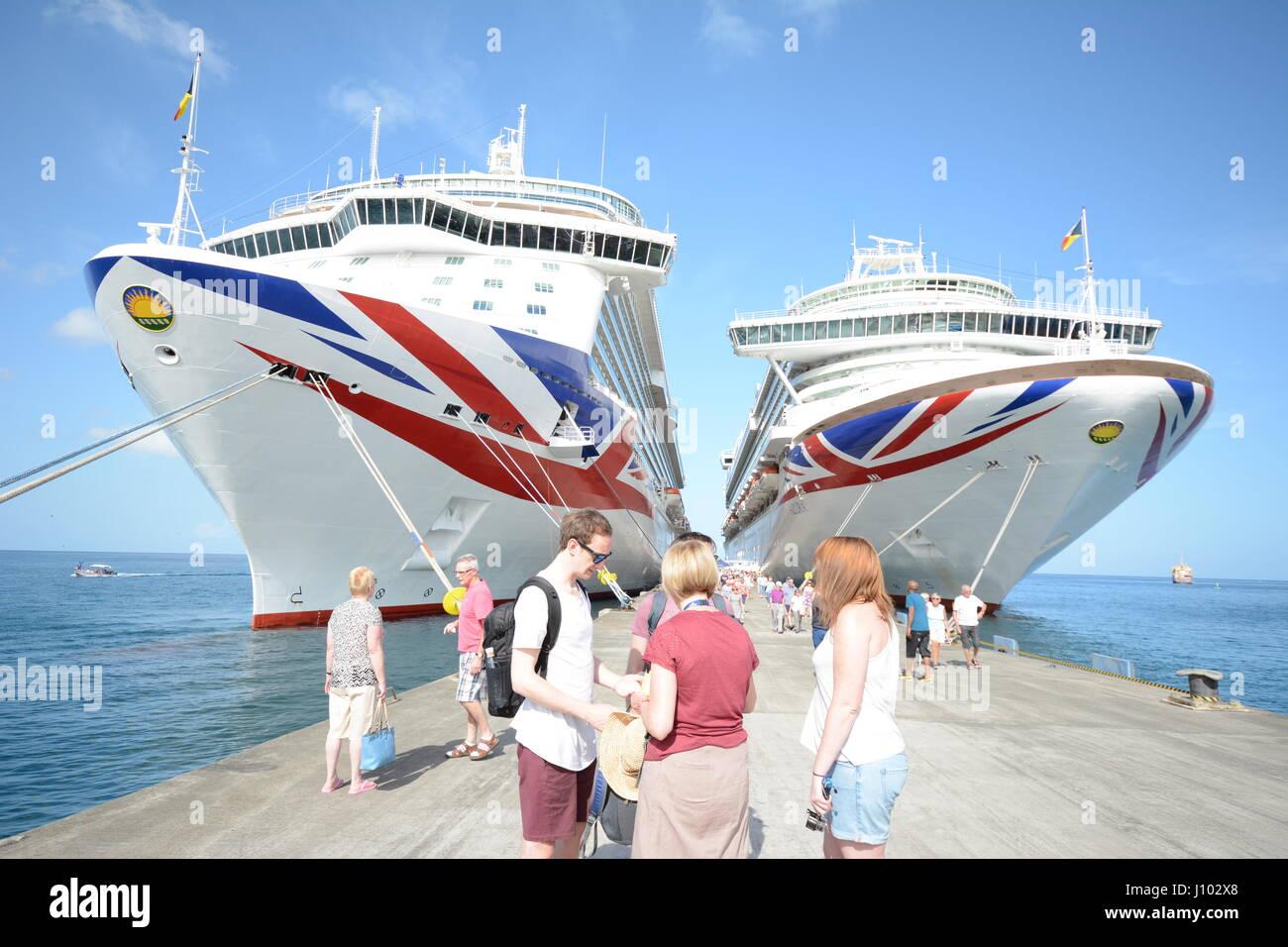 Britannia and Azura - Stock Image