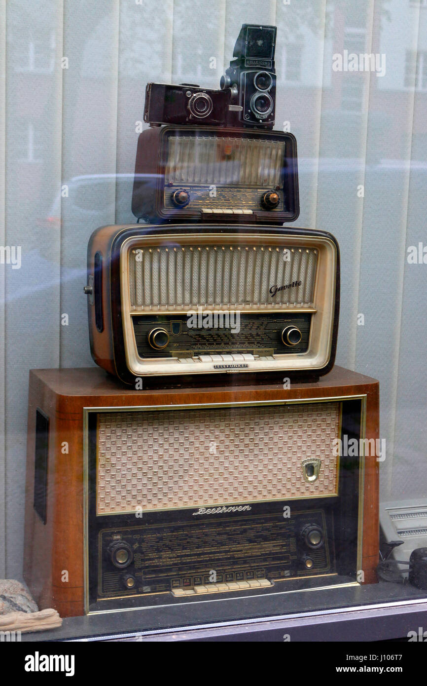 alte radios berlin stock photo 138302983 alamy