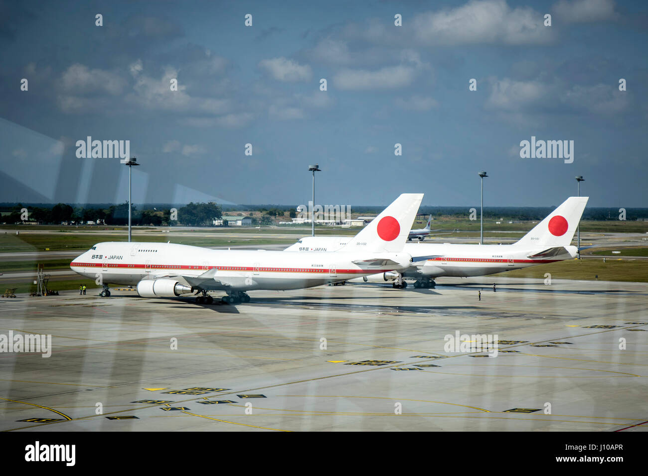 Kuala Lumpur, Malaysia. 16th April, 2017. Japan's Crown Prince Naruhito official visit to Malaysia for five days. Stock Photo