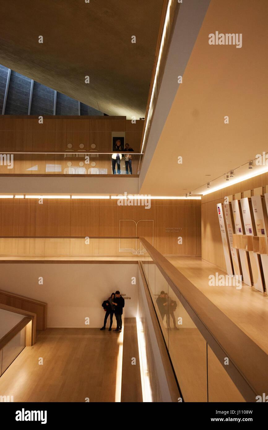 Interior of the Design Museum, Kensington High Street ...
