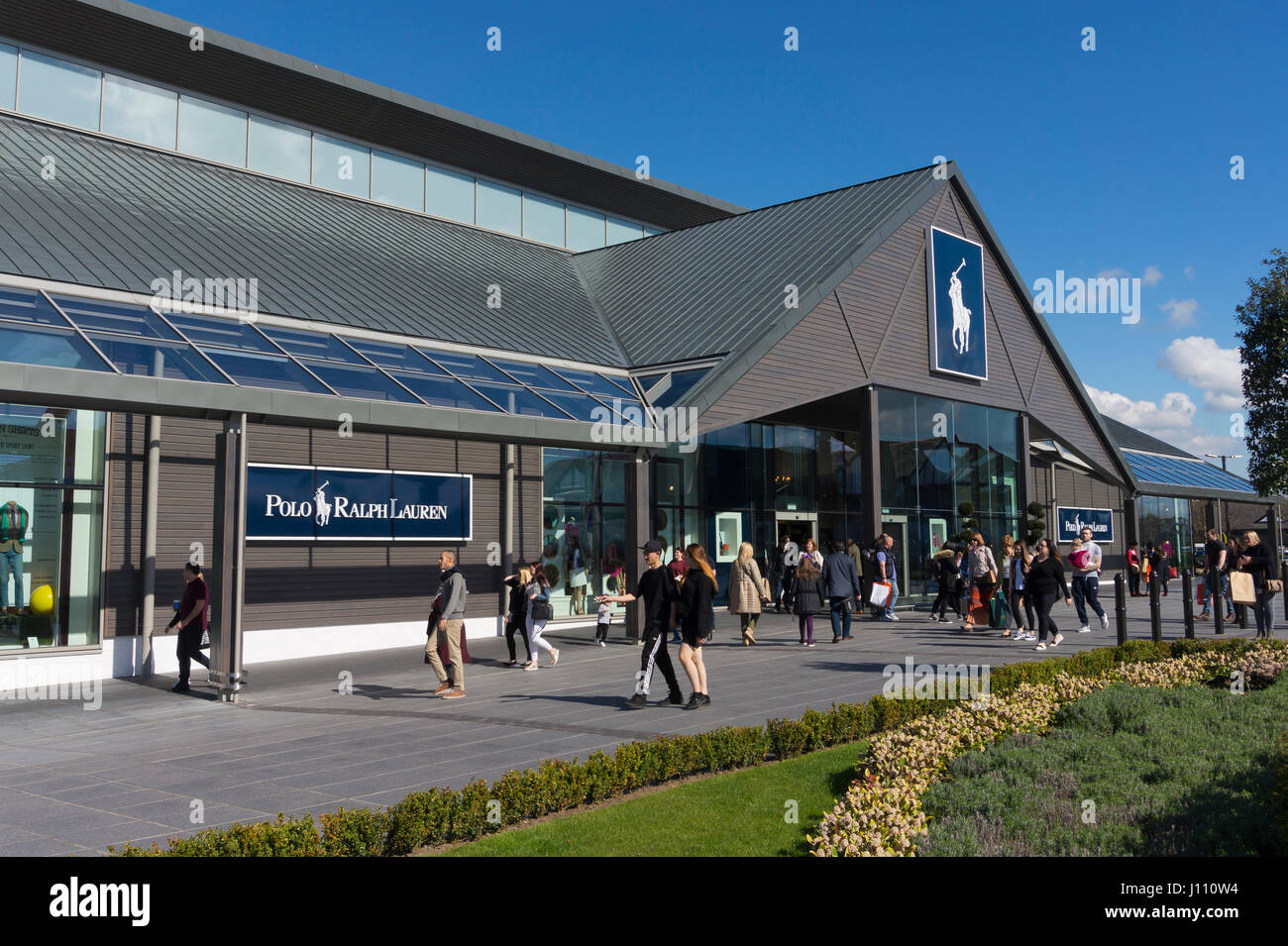Ralph Lauren Shop at Cheshire Oaks Designer Outlet - Stock Image