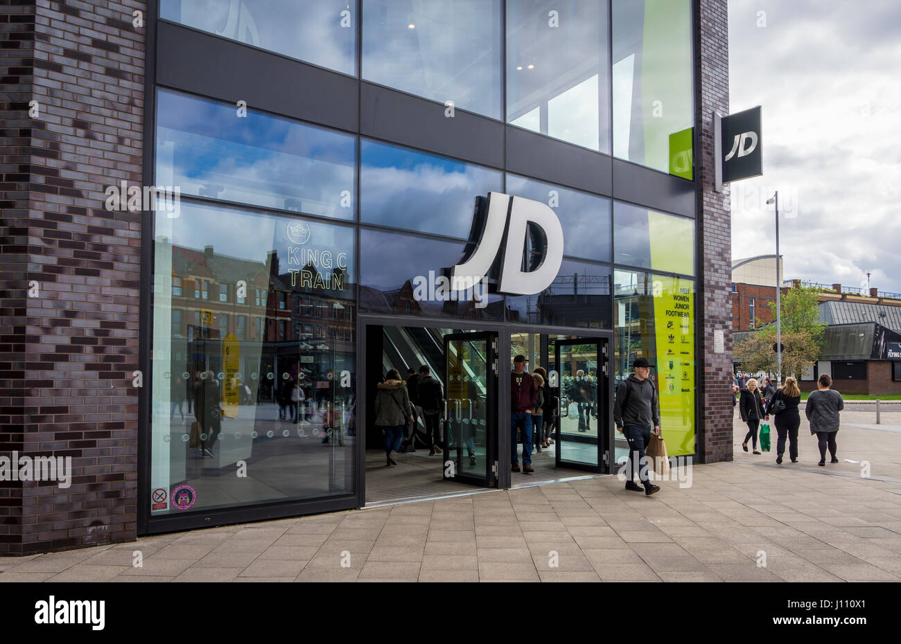 fa47a63d63254 JD Sports Shop Front in Bury, Lancashire Stock Photo: 138320281 - Alamy