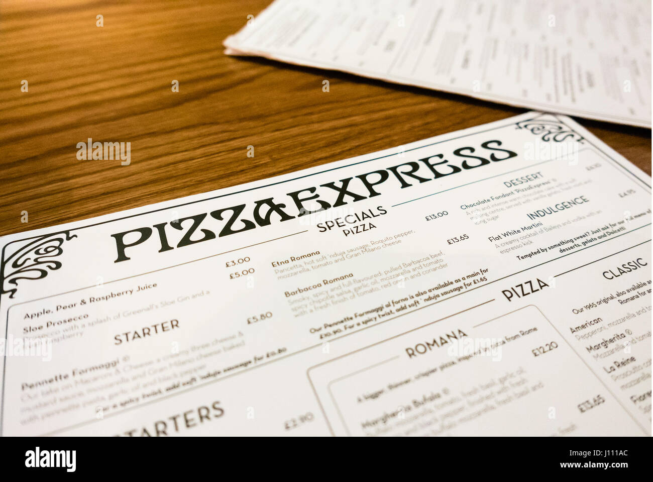 Food Pizza Express Uk Stock Photos Food Pizza Express Uk