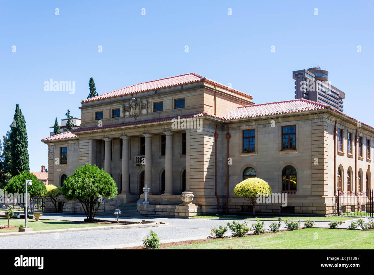The Supreme Court of Appeal, President Brand Street, Bloemfontein, Free State Province, Republic of South Africa - Stock Image