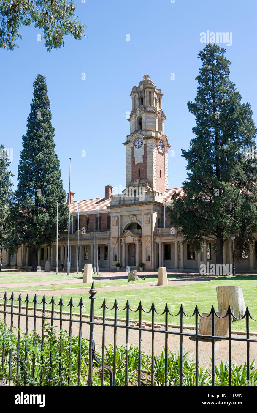 National Afrikaans Literary Museum and Research Centre, Elizabeth Street, Bloemfontein, Free State Province, Republic - Stock Image