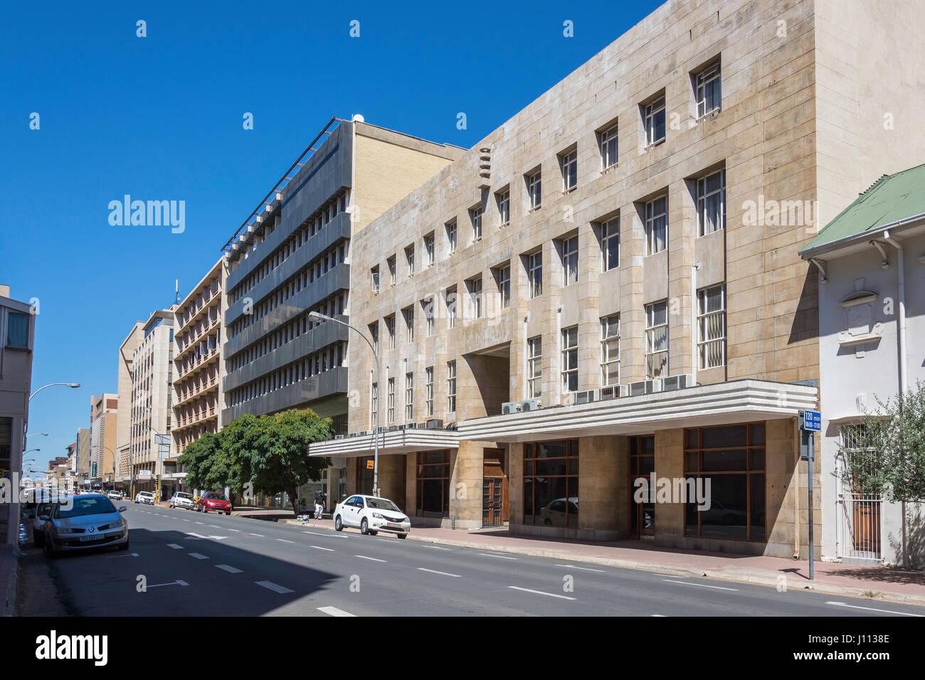 Charlotte Maxeke Street, Bloemfontein, Free State Province, Republic of South Africa - Stock Image
