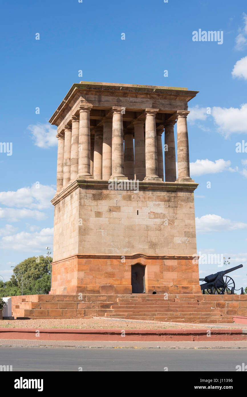The Peace and Justice Memorial, Greenpoint Community Square, Greenpoint, Kimberley, Northern Cape Province, Republic - Stock Image