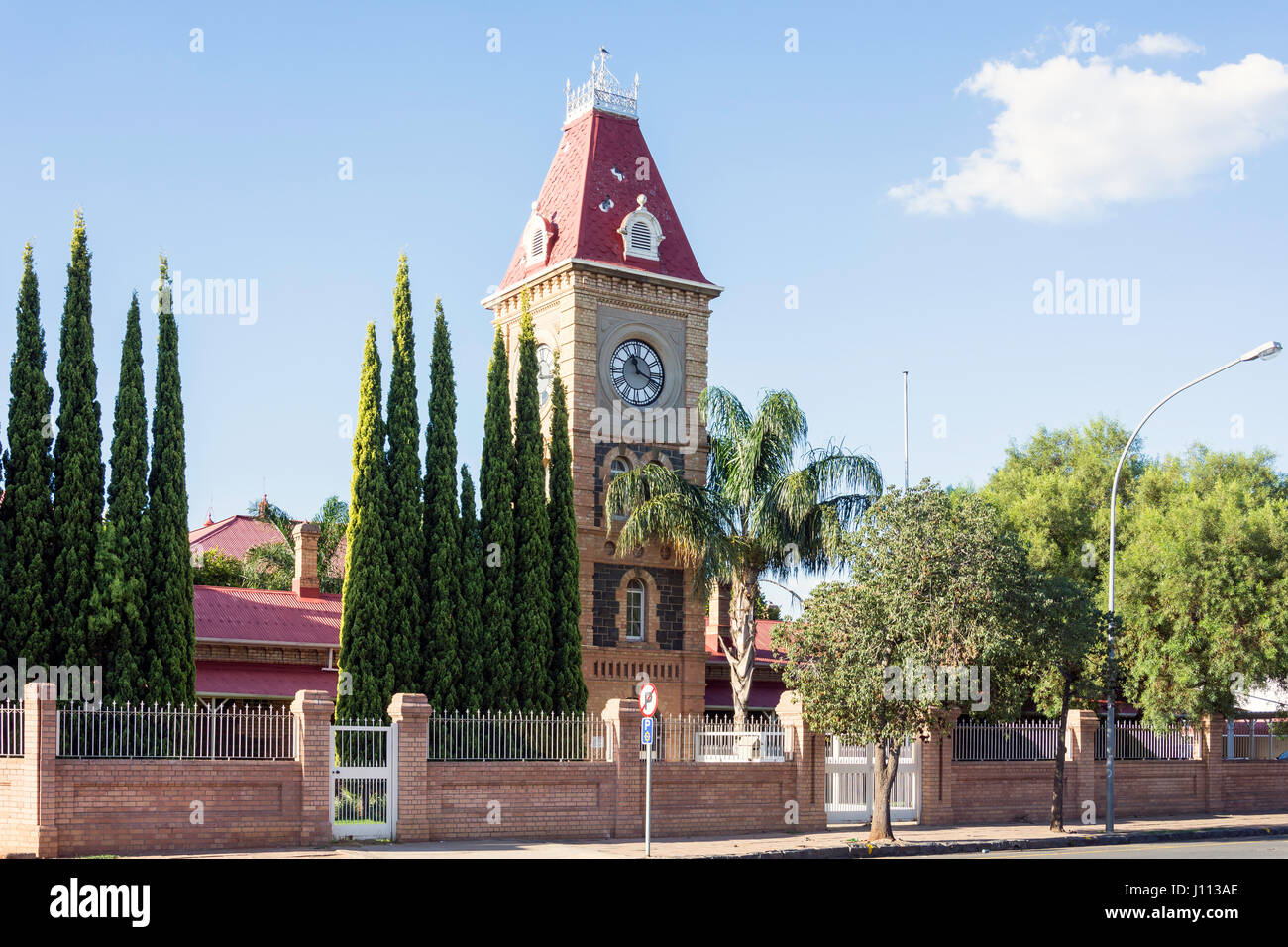 Old Magistrate Court, Market Square, Kimberley, Northern Cape Province, Republic of South Africa - Stock Image