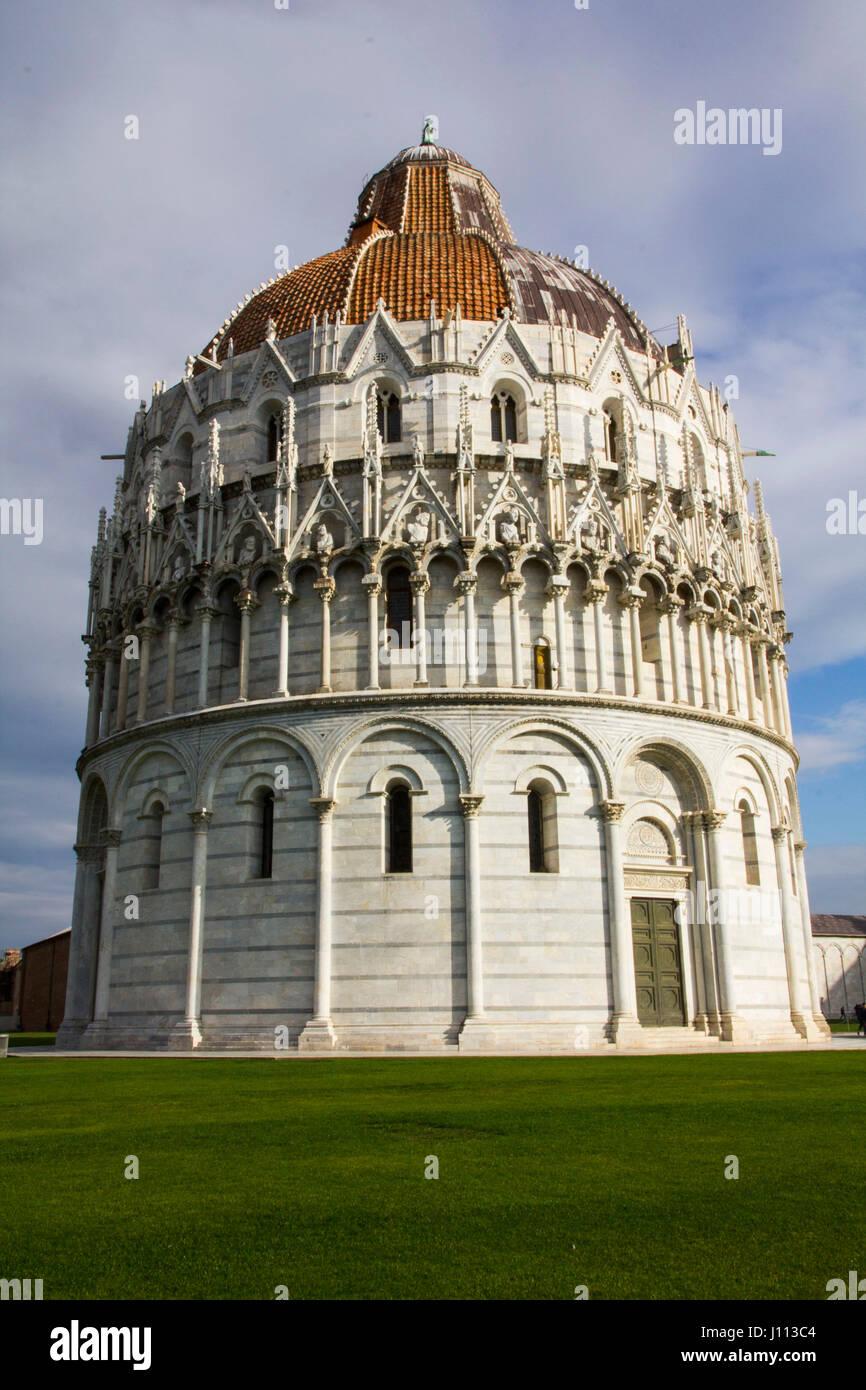 Scene from PIsa, Italy - Stock Image