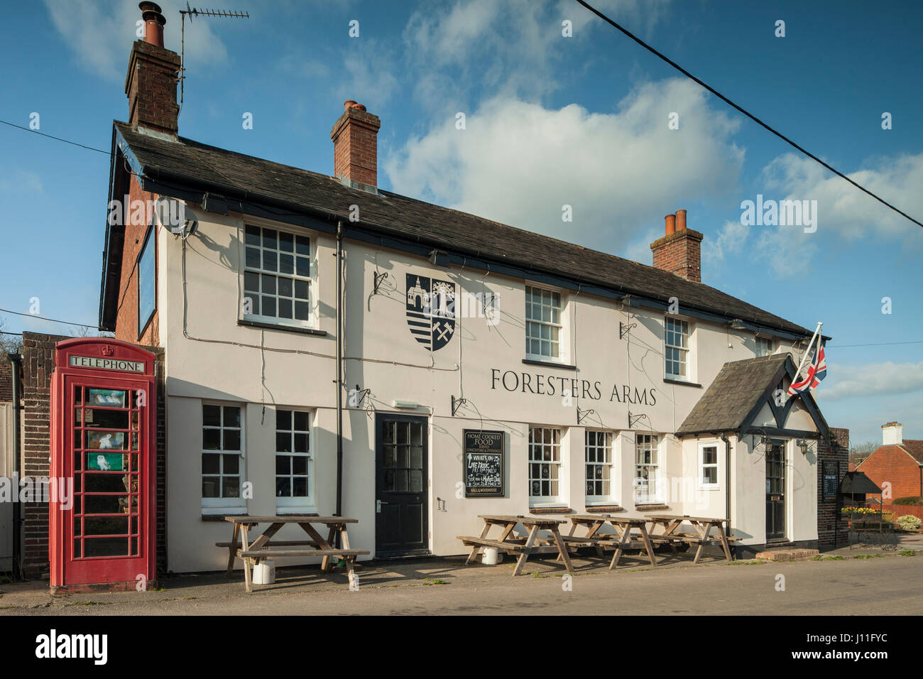 Country pub in Fairwarp, East Sussex, England. Ashdown Forest. - Stock Image