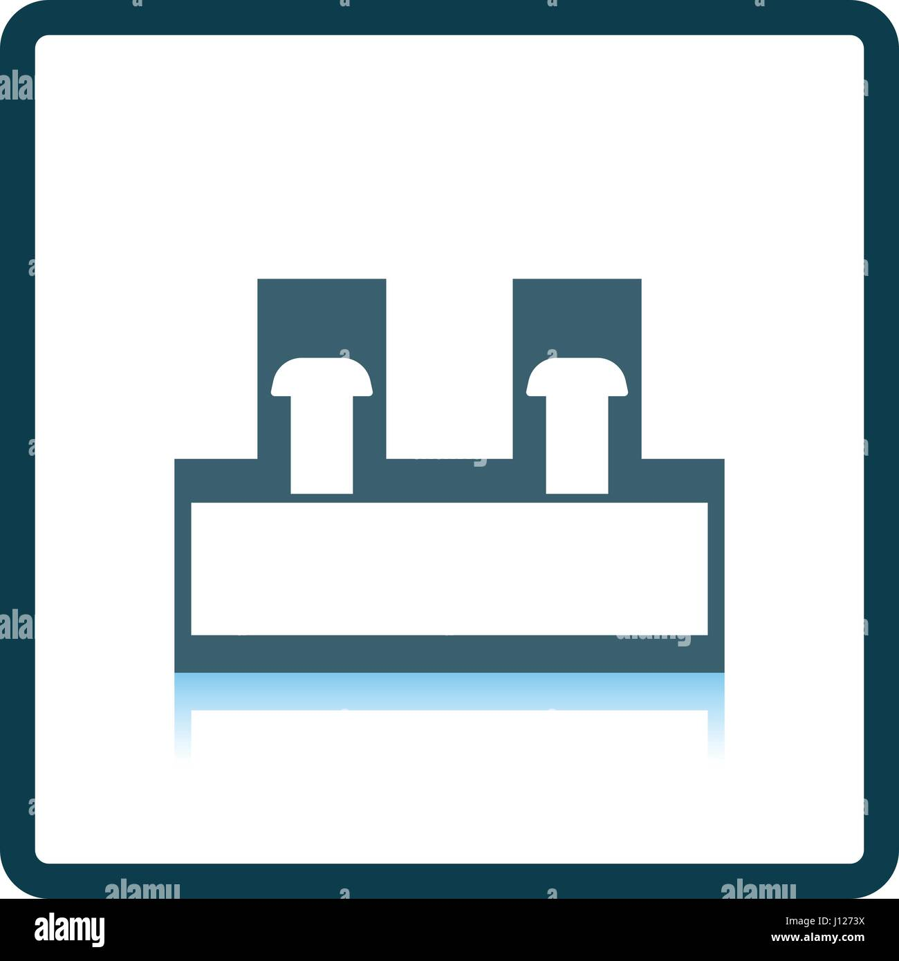 Wire Connector Terminal Block Stock Vector Images - Alamy