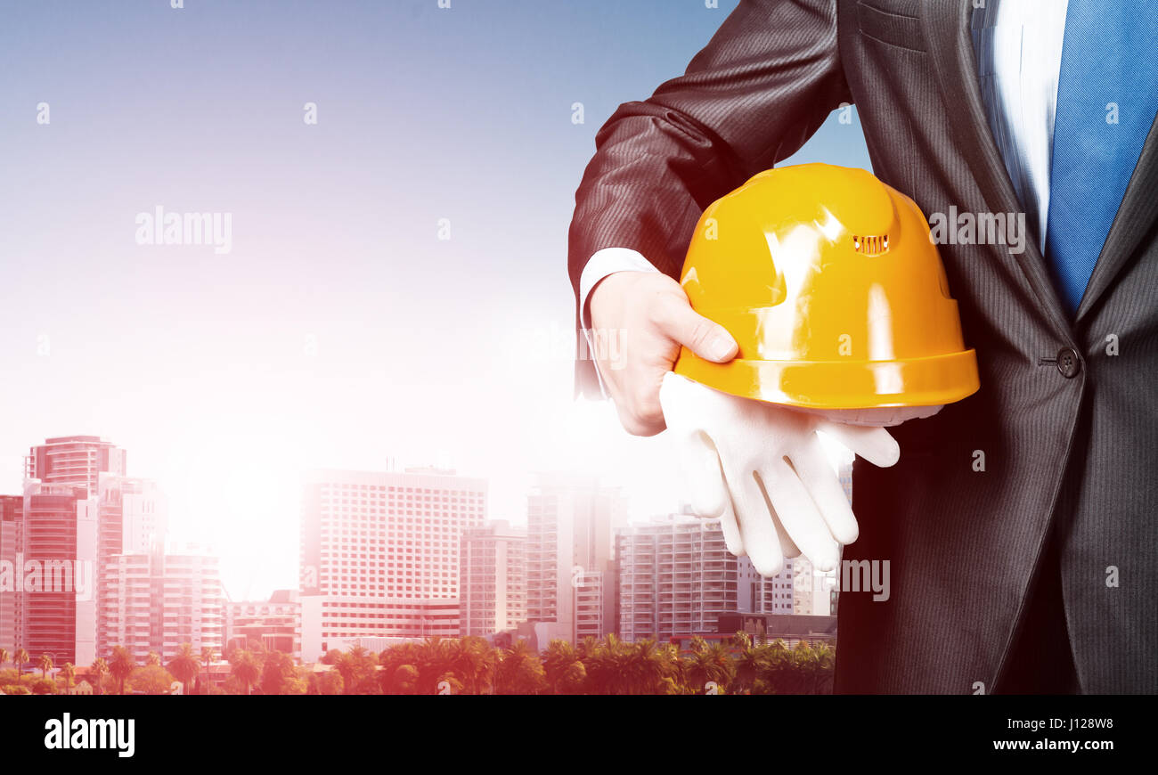 Man engineer - Stock Image