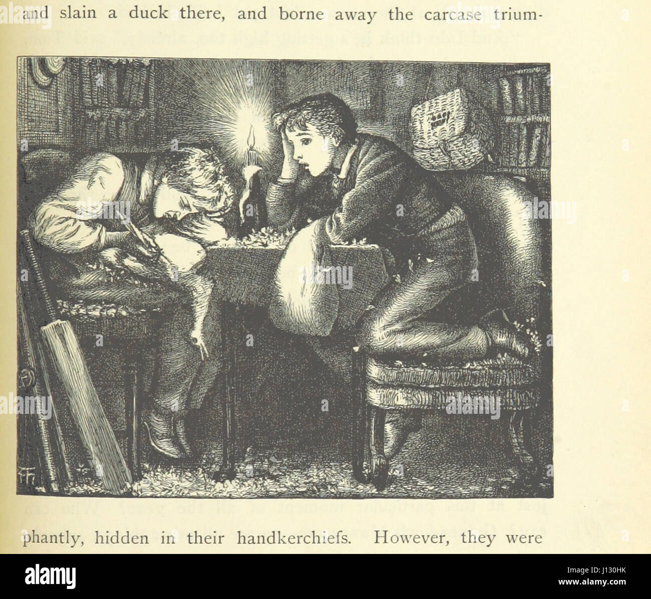 [Tom Brown's School Days. By an Old Boy [i.e. Thomas Hughes]. Third edition.] Stock Photo