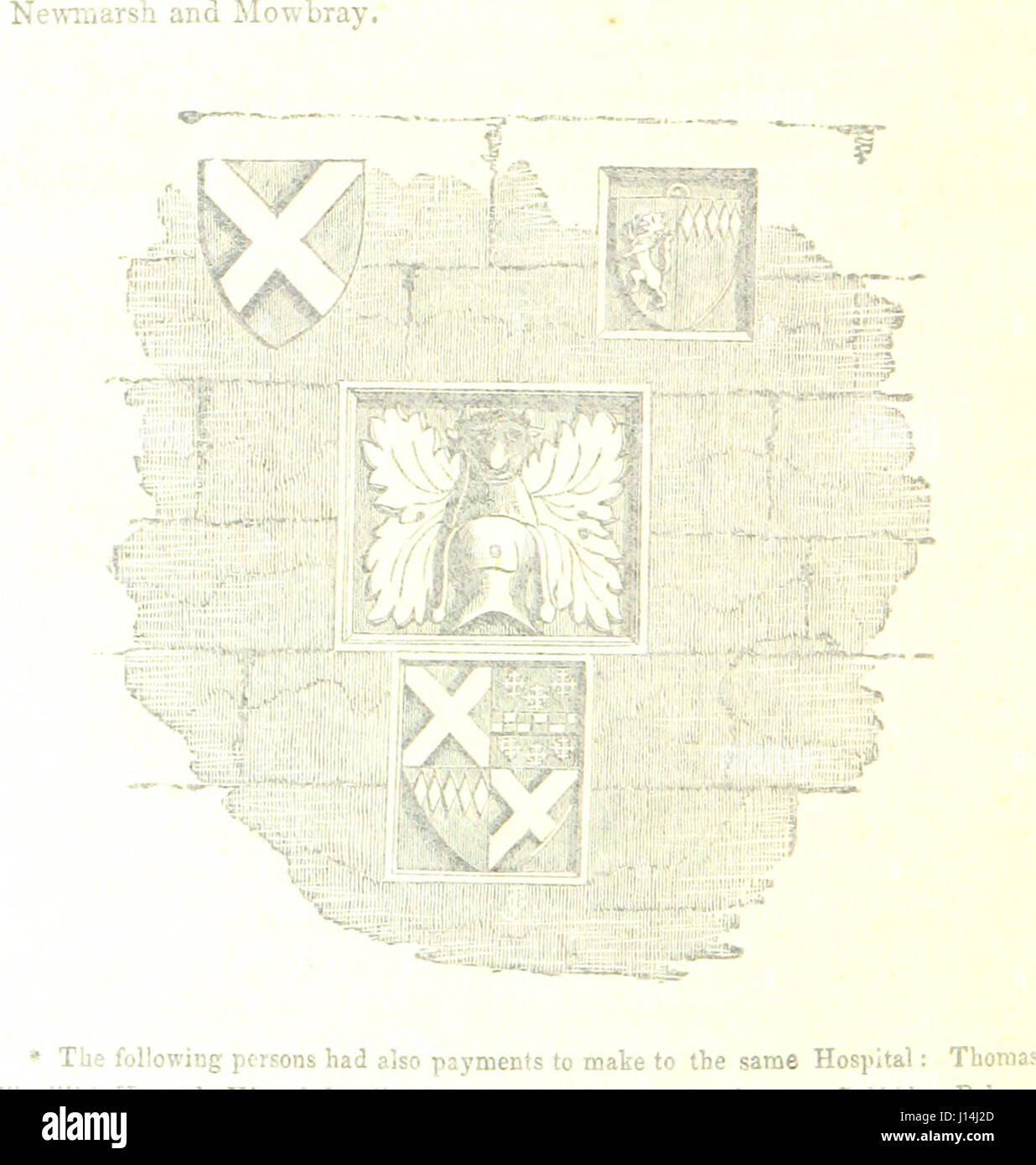 Read's history of the Isle of Axholme: its manors and parishes, with biographical notices of eminent men. Edited - Stock Image