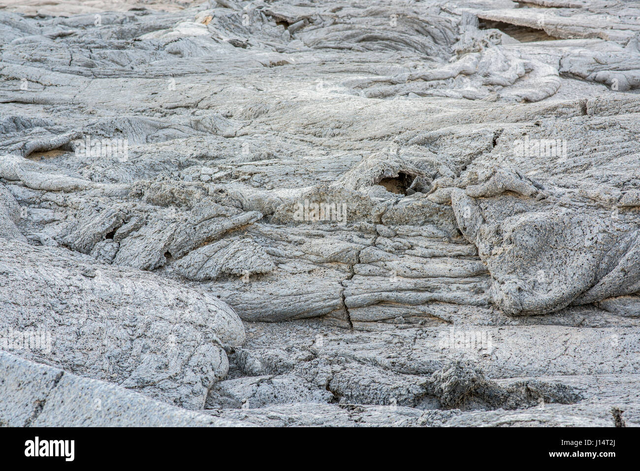 AFAR REGION, ETHIOPIA: Lava after it has cooled. HAVE YOU ever wondered what it must look like to stare into the - Stock Image