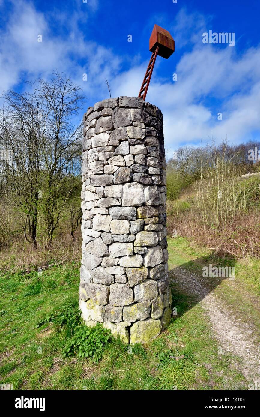National Stone centre Derbyshire UK - Stock Image
