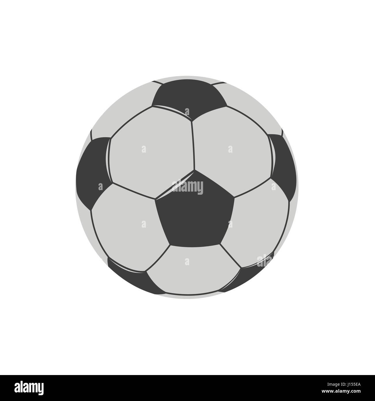 Football Soccer ball - Stock Vector