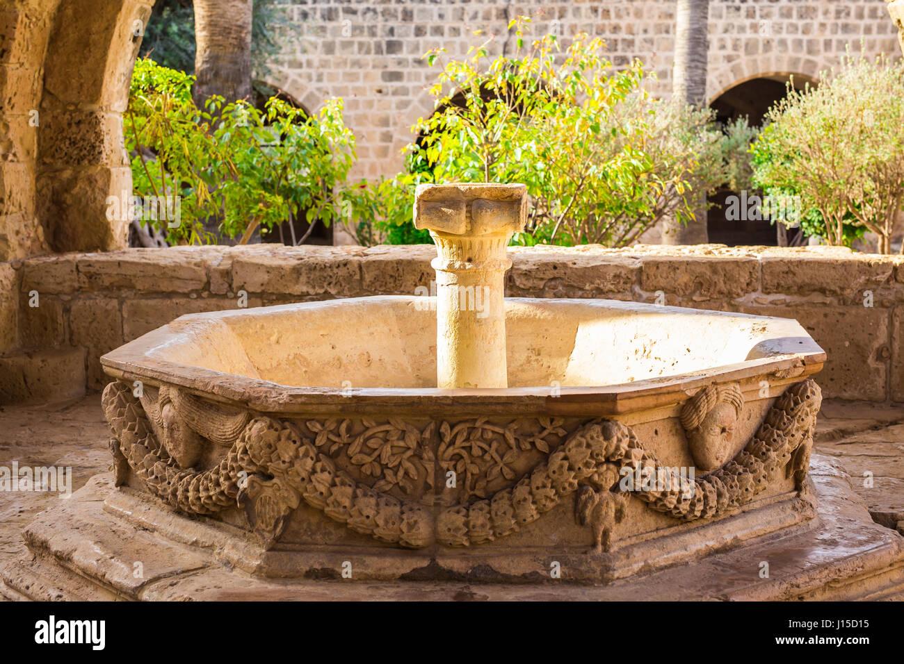 Water fountain. Outdoor Fountain park. Garden fountains Stock Photo ...