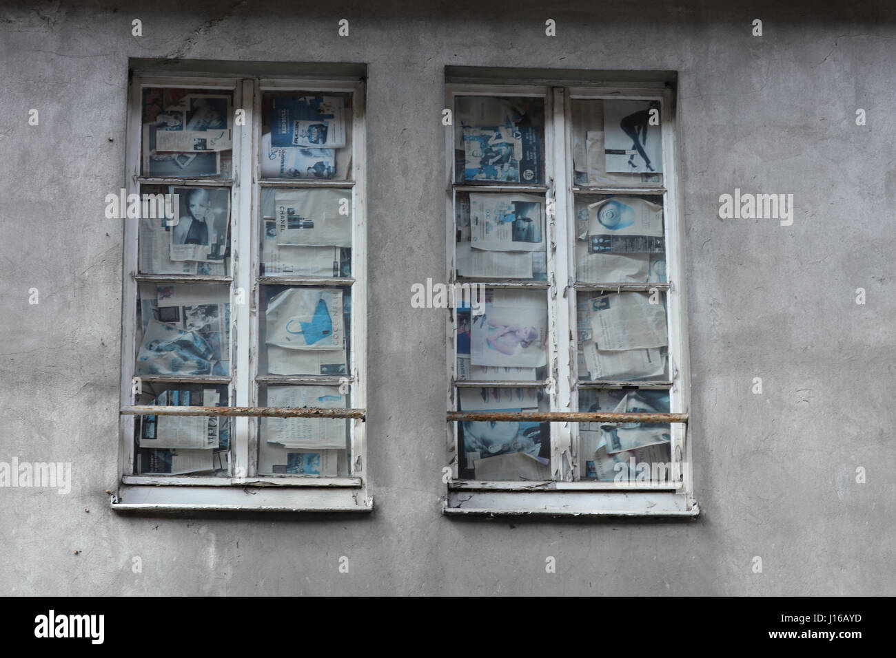 Altes Fenster - Stock Image