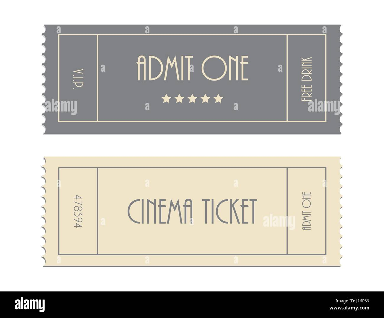 special vector ticket template admit one cinema ticket stock