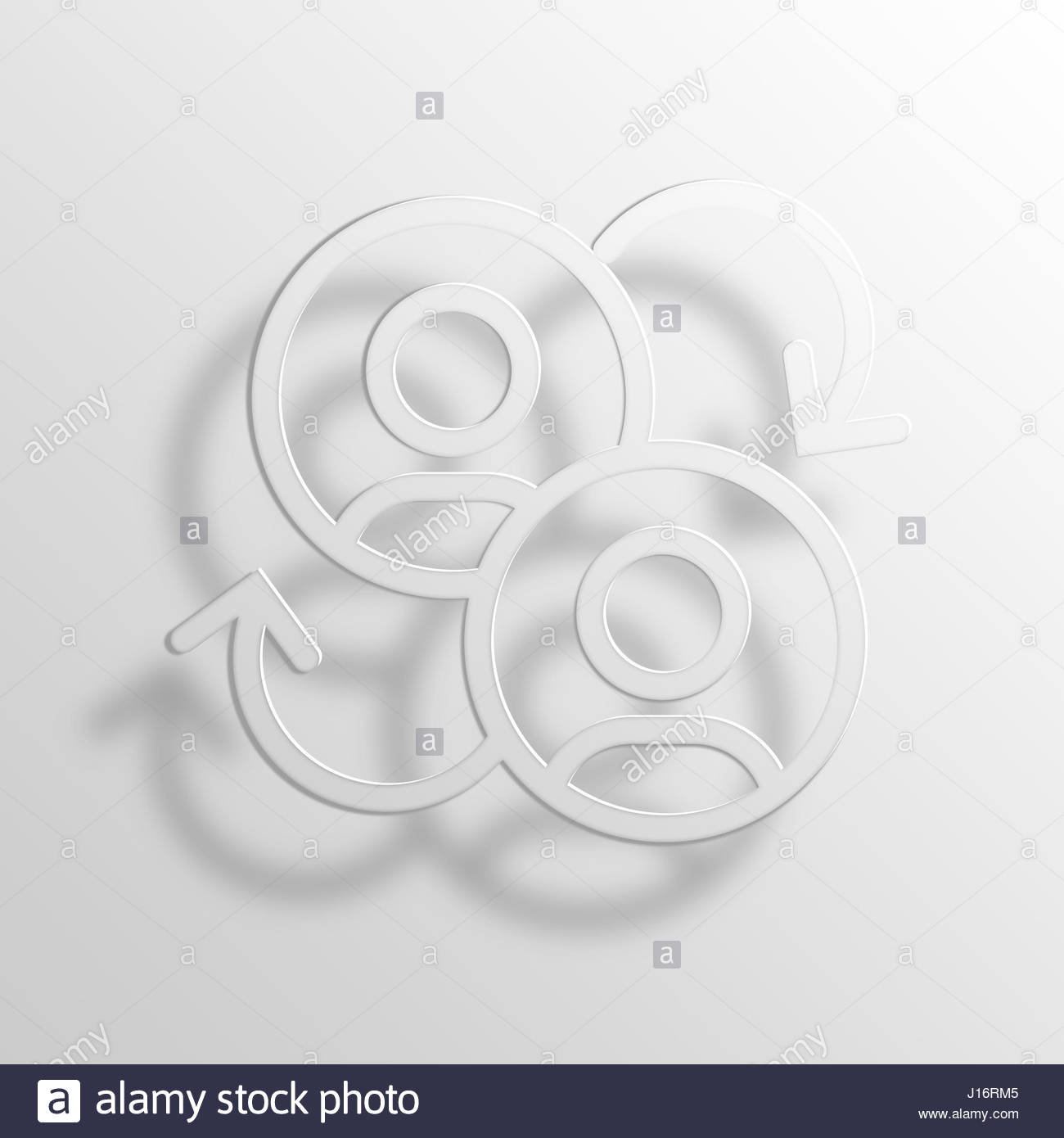 switch 3D Paper Icon Symbol Business Concept No.7041 Stock Photo ...